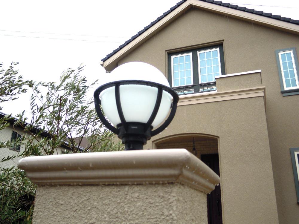 門灯 ランプ 丸