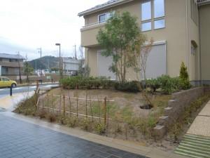オープンな庭