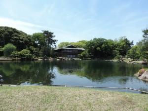 徳川園 龍仙湖