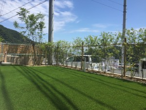 庭 リフォーム 人工芝