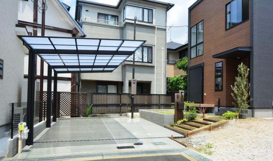 ネスカF オープン外構 カーポート 大阪