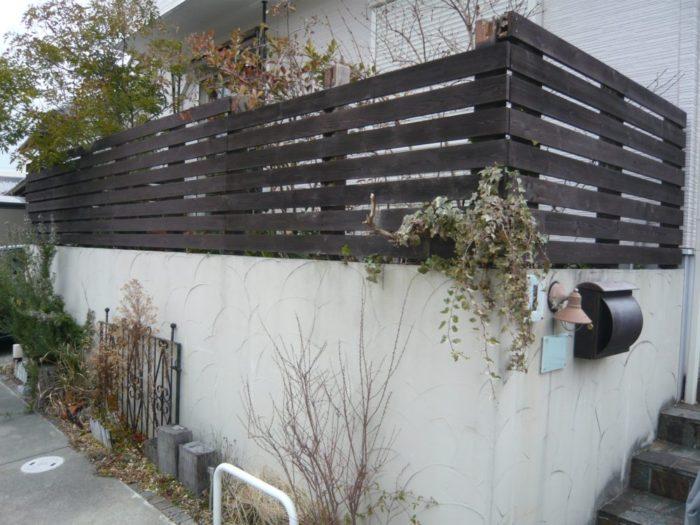 フェンス 老朽化 リフォーム