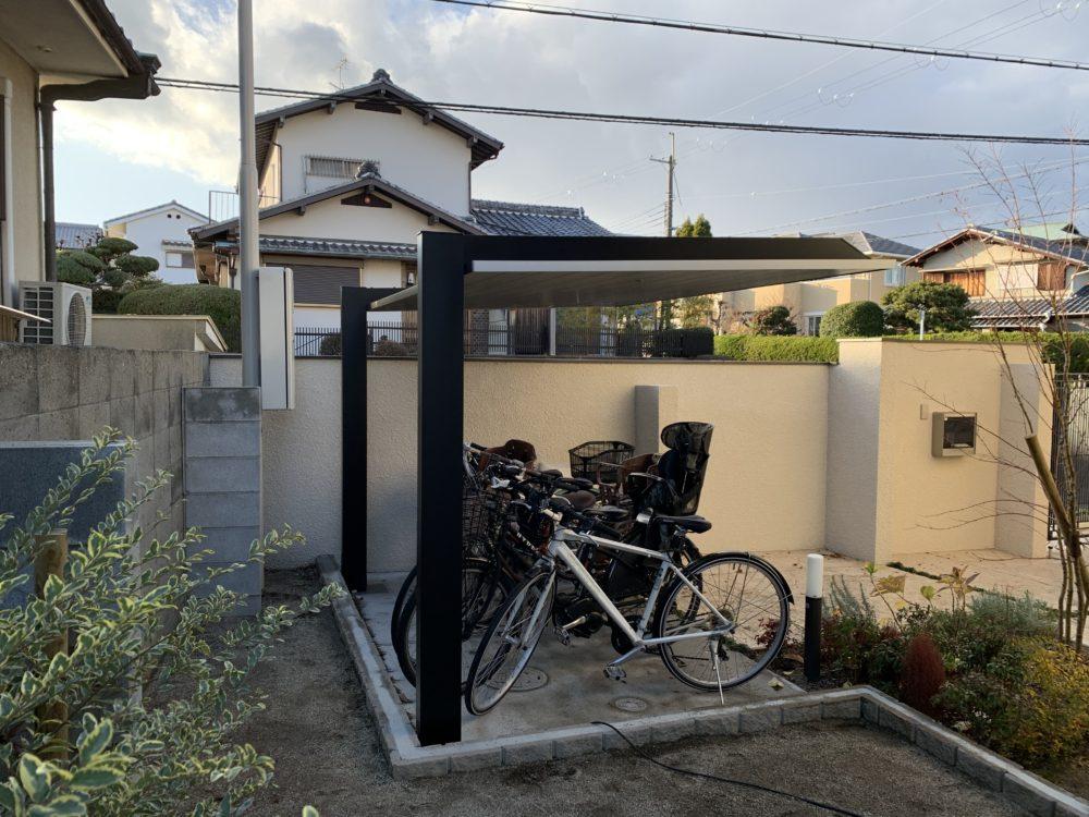 おしゃれな自転車置き場 LIXIL SC