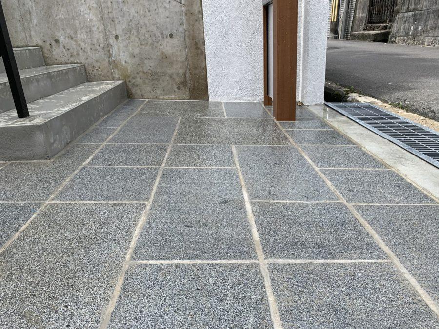 外構 エクステリア 大阪 アイランド エコノミーストーン
