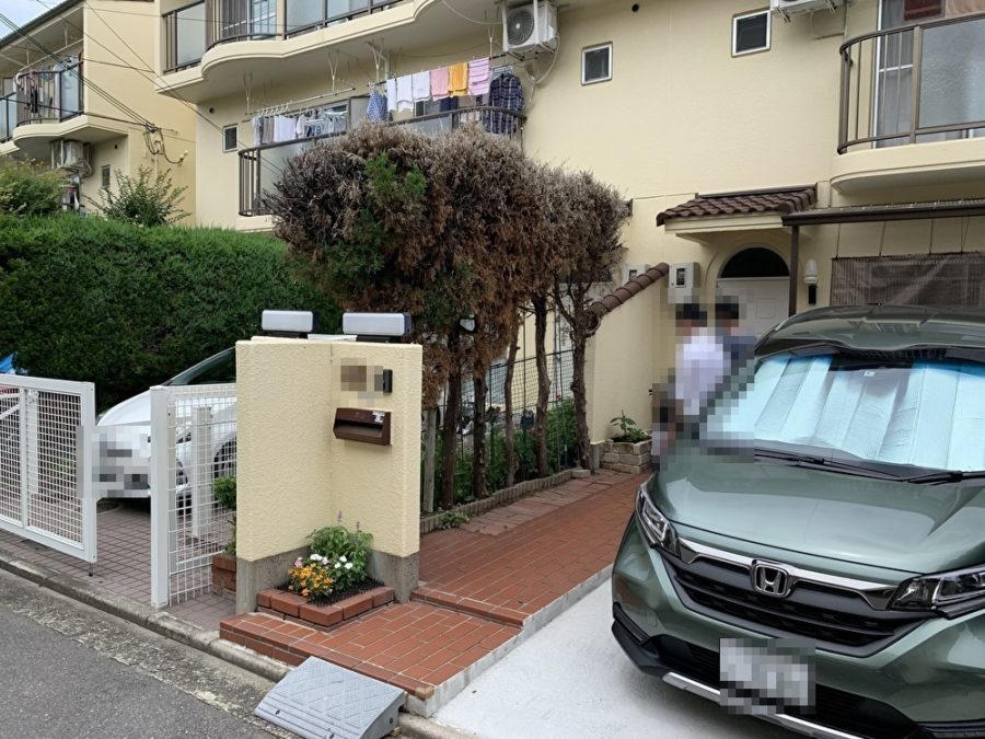 リフォーム フェンス 外構工事 大阪