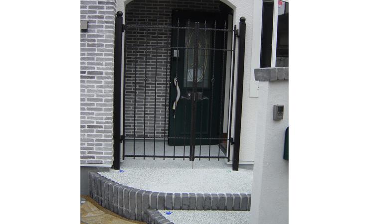D様邸 門事例