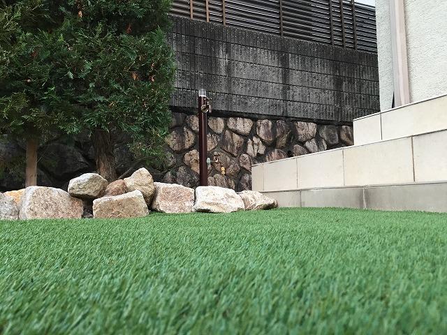 人工芝でゴルフガーデン