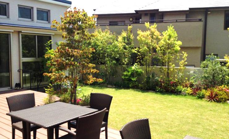 ガーデンファニチャー カフェ