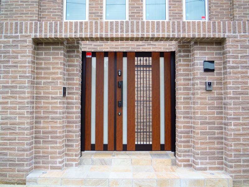高級のある門扉