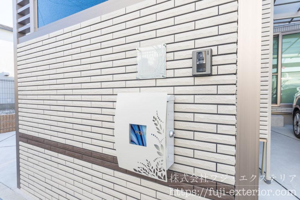 ポスト エクステリア 大阪 外構工事