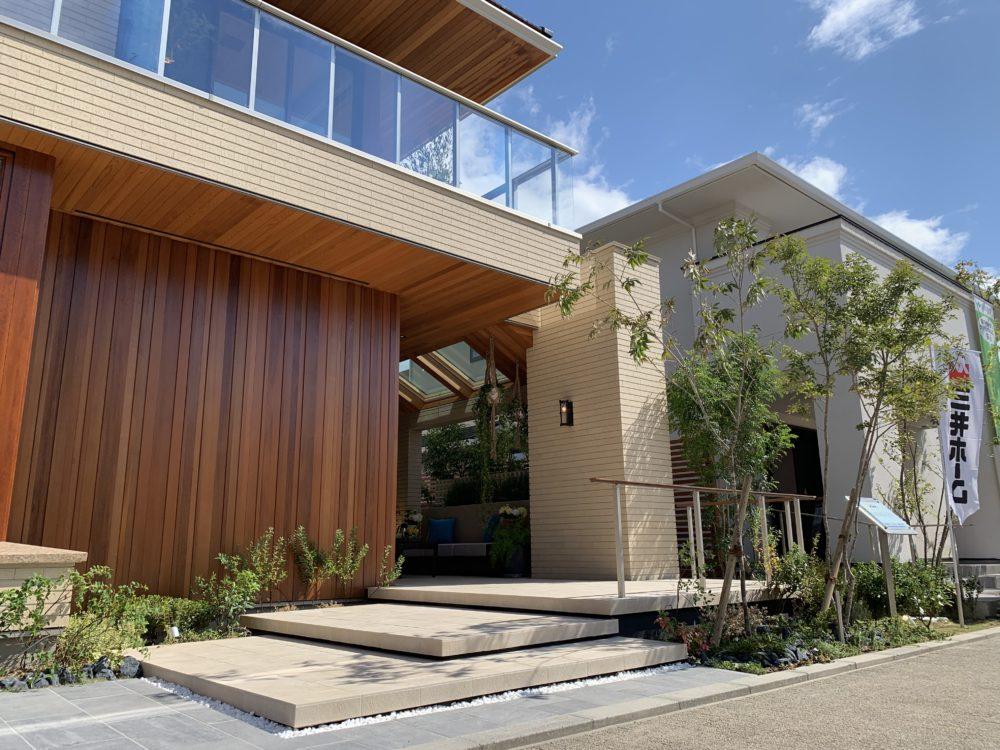 浮遊感  ステップ モデルハウス 三井ホーム ラングレー