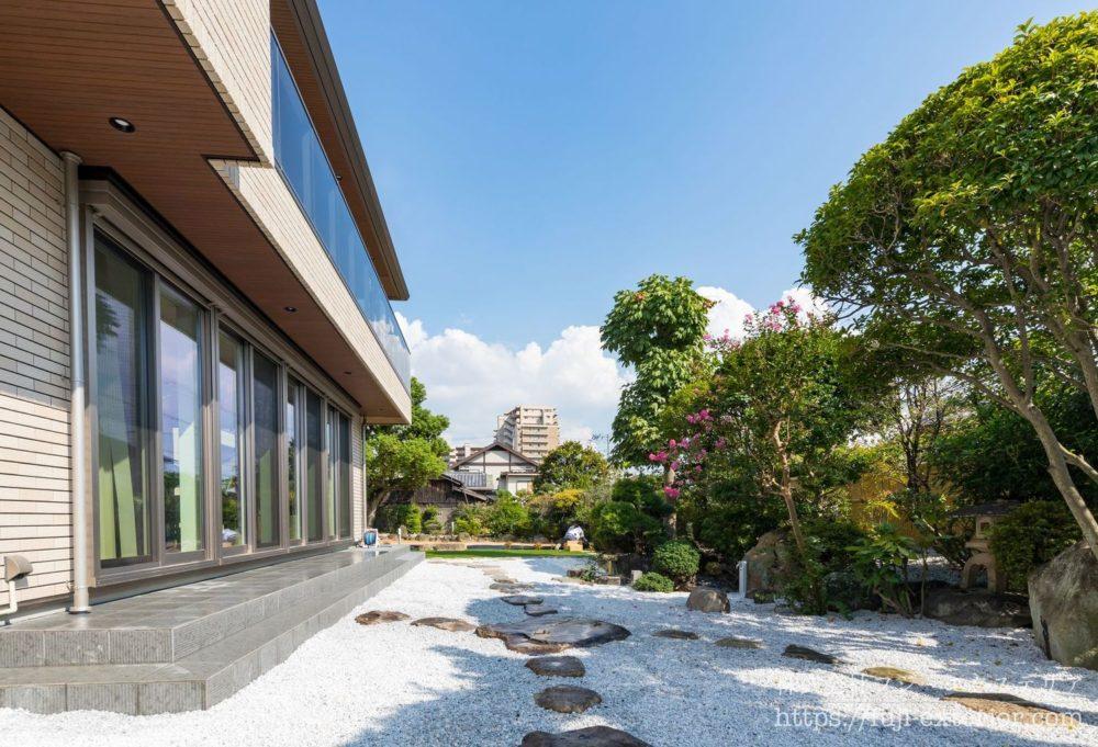 お庭 魅せる和風庭園 優雅で素敵なジャパニーズガーデン 大阪 フジエクステリア 外構