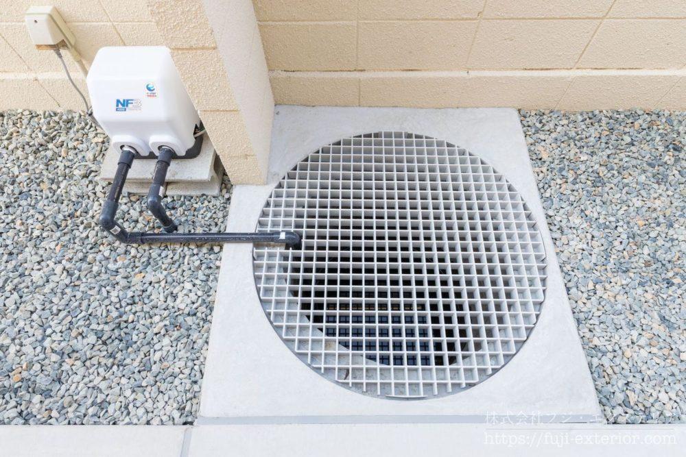 天然井戸 川本ポンプ 浅井戸用電動ポンプ 地下水脈 井戸の再利用