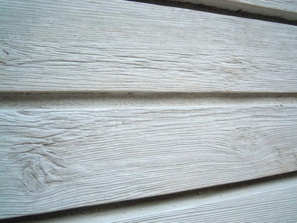 杉板の打ち放し風仕上げの化粧ブロックでとても高級感