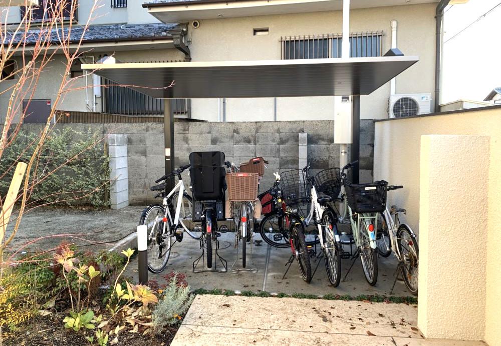 オシャレなサイクルポート LIXIL カーポートSC ミニ 大阪