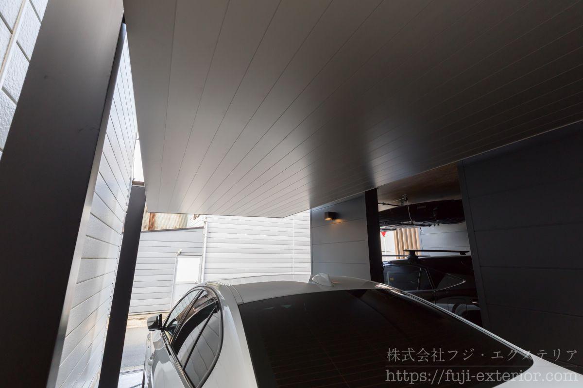 カースペース ガレージ 大阪 外構 施工 カーポート SC LIXIL