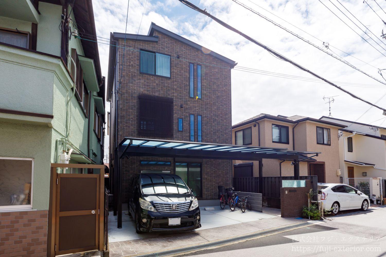 エクステリア 外構工事 大阪 カーポート