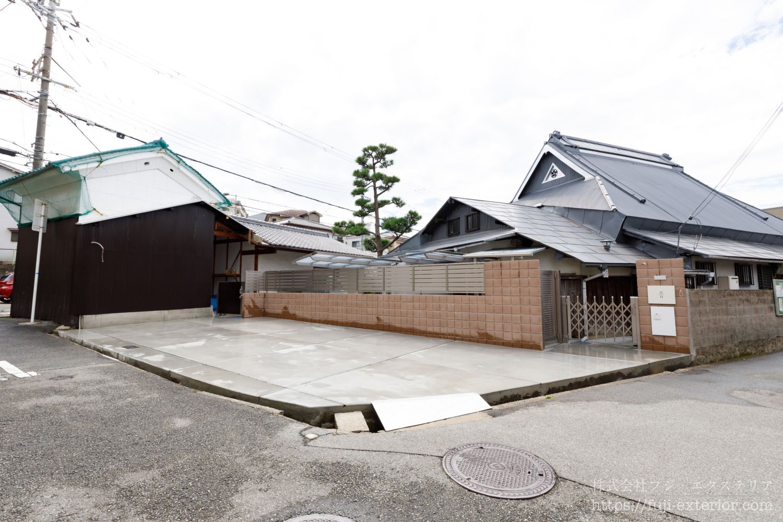 エクステリア 外構工事 大阪  古民家のリフォーム