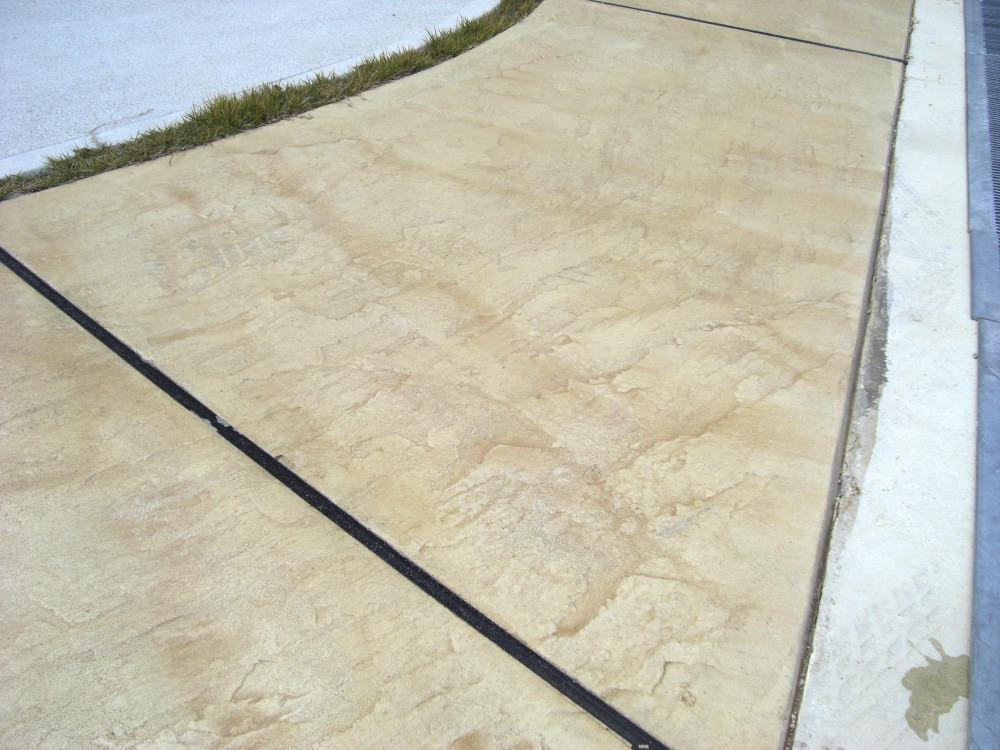 スタンプコンクリート 床仕上げ